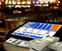 video poker + billets $